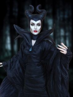 About OOAK Tonner Maleficent: This is a Tonner Gina sculpt doll that I recreated as Angelina Jolie in the new Disney movie Maleficent. Repaint, clay sculpt, costume and accessories all by me. )