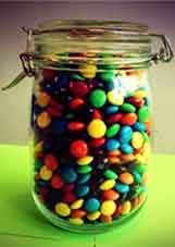 Fundraising for charity: Guess how many sweets are in the jar game stall charity