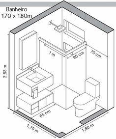 Medidas importantes e ideias de distribuição no Banheiro | Simples Decoracao | Simples Decoração