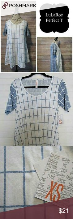 ***NWT*** LuLaRoe Perfect T - XS Final Pricing. This is a brand new item. LLR going out of business liquidation sale. Please do not ask for further discounting. This is as low as I can go to pay back my initial investment. LuLaRoe Tops Tunics