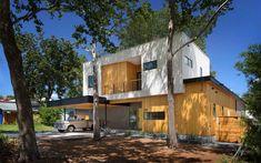 アメリカ・テキサス州オースティンよりお届けするのは、ファミリーが暮らすモダンでナチュラルなお宅です。 同じくテキサスの建築デザイン事務所、が手がけたこのお宅は、合わせて3つのベッドルームに書斎、リビングルーム、ダイニング …