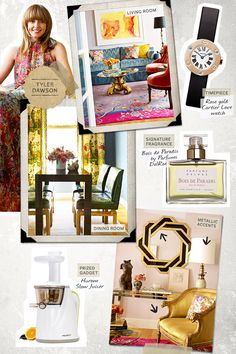 pFlashback to the present. Mixing and matching decades takes a lot of flair to look new./pbrpa href=http://www.housebeautiful.com/decorating/interior-designers/up-and-coming-designers-1012
