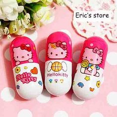 Hello Kitty pills-this is a halfway palatable way to get a bit of a smile as you down your cursed pills. What a concept! :)