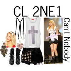 """2NE1's CL"" by jpmonkey1234 on Polyvore"