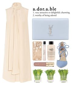 """nude"" by laughtersassassin ❤ liked on Polyvore featuring Chloé, Yves Saint Laurent, Kristin Cavallari, Repetto, philosophy, Smith & Cult, NDI, fresh and nude"