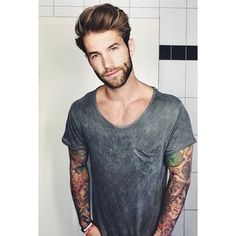 Ladies and gentlemen, please introduce yourself to German model Andre Hamann.   This Male Model Is The Eye Candy Humanity Deserves