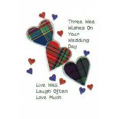 354 best scotland birthday christmas gaelic greetings wedding day 3 wishes scottish keepsake wedding card m4hsunfo