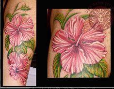 Hibiscus flower tattoo – foot tattoos for women flowers 3d Flower Tattoos, Hibiscus Flower Tattoos, Tattoos For Women Flowers, Flower Tattoo Foot, Foot Tattoos For Women, Hibiscus Flowers, Blue Flowers, Unique Tattoos, Tatoo