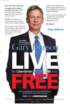 @Gary Johnson 2012