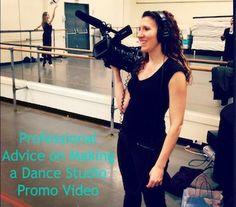 Tips on Making a Video to Market Your Dance Studio via Dance Advantage.