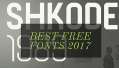 We have put together a great list of best free fonts available on the internet. You can find a vast category of fonts here.