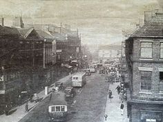 1937 High Street looking toward Red Lion Square.