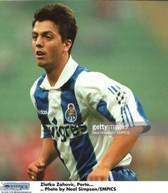 Zlatko Zahovic Porto Fifa, Fc Porto, Football Players, Polo Shirt, Mens Tops, Blue And White, Football Soccer, Soccer Players, Polos