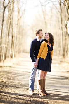 This is what I wore for my engagement session - great falls engagement session