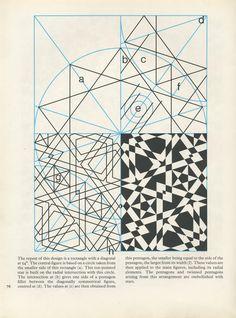 Pattern in Islamic Art – PIA 076 – Islamic Photos Islamic Art Pattern, Arabic Pattern, Pattern Art, Sacred Geometry Patterns, Geometry Art, Arabesque, Art Ancien, Geometric Drawing, Celtic Art