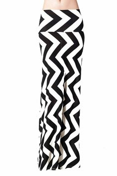 c3828cc38e9 Women S Poly Span Multi Color Chevron Print Maxi Skirt - Chevron at Amazon  Women s Clothing store
