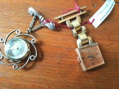 Orologi spilla vintage