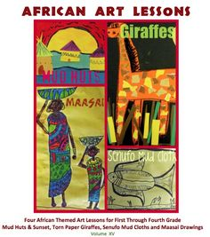 African Art Lessons-crazy I did something just like this 2011  this lesson is a great prep for the students to draw inspiration for a final African art drawing.