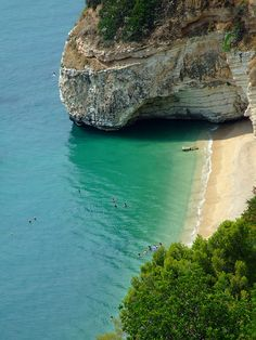Bathing at Zagare Bay, Foggia, Italy Copyright: Giorgio Mercuri