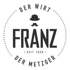 So sieht Franz aus. Design by studio 10. Metzger, Studio, Logos, Design, Dna, Design Comics, Study, Logo