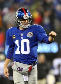 Giants - Eli Manning