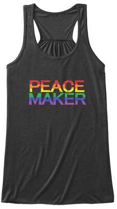 Peace Maker Tank Tops