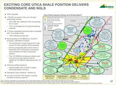 Antero Resources: Core Utica Shale Positions in Ohio