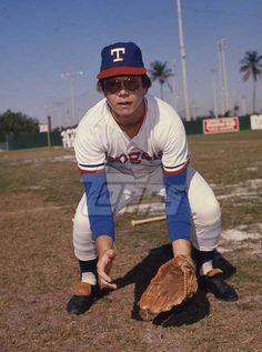 1975 Topps Baseball Original Color Negative. Mike Cubbage RANGERS