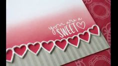Follow along as guest designer Laura Bassen gives a great idea on a card to make for your sweetheart! For more information and photo stills, please visit our...