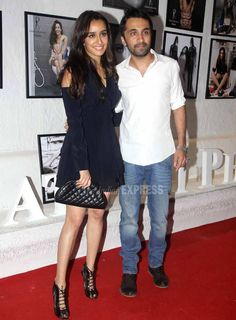 Shraddha Kapoor with brother Siddhanth at the #DabbooRatnaniCalendar launch. #Bollywood #Fashion #Style #Beauty #Cute #Hot