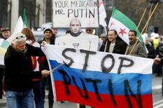 تقرير مفصل عن الأزمة الأوكرانية التى شغلت العالم والمستفيد بشار الأسد.؟