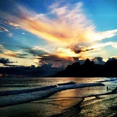 Beautiful clouds at the sunset in Rio de Janeiro - @chmarra- #webstagram