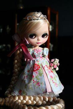 blythe dolls | OOAK Custom Blythe Rapunzel doll | Flickr - Photo Sharing!