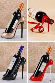 34 Best Unique Wine Bottle Holders images  35e9b9fc5b76