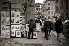 Old Montreal. Photograph by Patrick Hugh Tiernan Old Montreal, Montreal Quebec, I Want To Travel, Weekend Getaways, Vignettes, Wander, Places Ive Been, North America, Road Trip