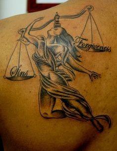 Tattoo Ideas Center — 50 Show Stopping Libra Tattoo Designs >> ...