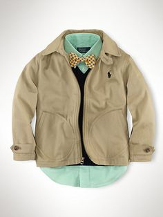 Barnsbury Windbreaker - Outerwear & Jackets  Boys 2–7 - RalphLauren.com