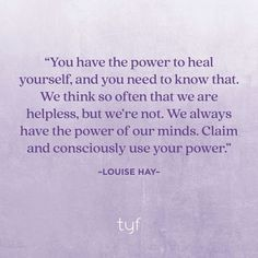 Louise Hay, Empowering Quotes, Trauma, Healing, Journey, Mindfulness, Child, Boys, Kid
