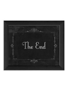 Silent Movie The End by Artwork Enclosed at Gilt