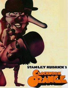 'A Clockwork Orange' - 1971 film poster