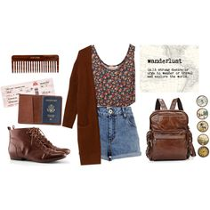"""wanderlust"" by revesenrose on Polyvore"