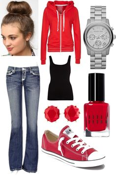 """""""Causual Outfit"""" by rach3lmar33 on Polyvore"""