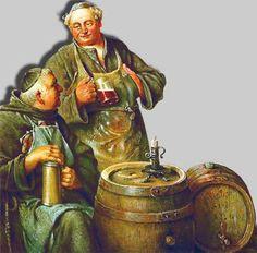 Benedictines with barrells