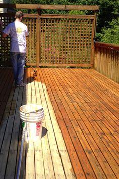 Deck Refinishing, Side Deck, East Side, Garden Art, Future House, Decks, Entrance, Outdoor Decor, Diy