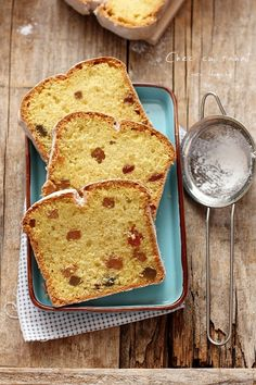 Loaf Cake, Pound Cake, Easy Cake Recipes, Healthy Recipes, Healthy Foods, Food Cakes, Fruit Cakes, Dough Recipe, Sweet Bread