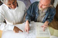 Sergio e Yves ajustan los detalles de Cam-man.