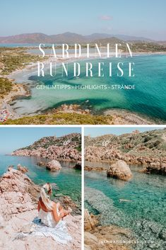 Sardinia tour – insider tips, the most beautiful beaches and sights for your vacation – Carpe Diem Willkommen Most Beautiful Beaches, Beautiful Places, Hotel Am Strand, Travel Report, Travel Advise, Honeymoon Places, Beautiful Islands, Places To Travel, Road Trip