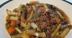 Cuisine québécoise recettes Québec Steaks, Pot Roast, Ethnic Recipes, Food, Chicken Rice, Crisp, Ground Meat, Cooking Food, Meal