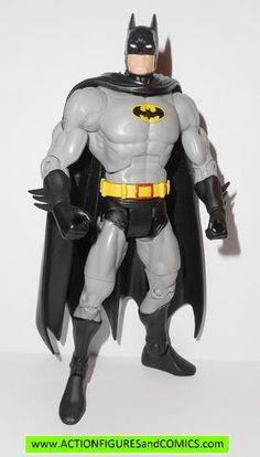 dc universe classics BATMAN gray black suit walmart gotham city