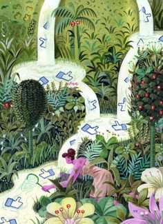 Pieter van Eenoge für das #zeitmagazin #illustration #acrylfarben